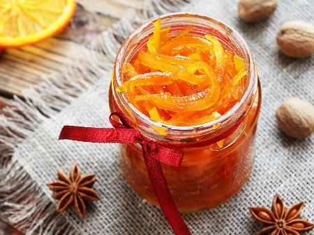 Конфитюр от портокалови корички - снимка на рецептата